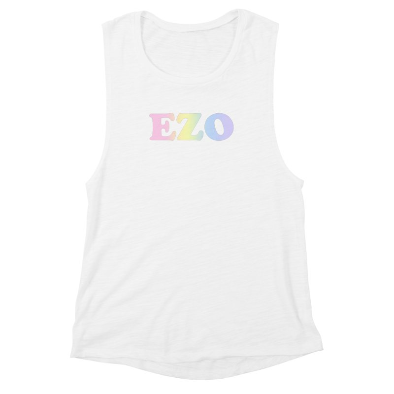 EZO SPECTRUM Women's Muscle Tank by ezo's Artist Shop