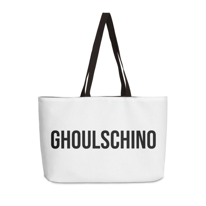 GHOULSCHINO Accessories Weekender Bag Bag by ezo's Artist Shop