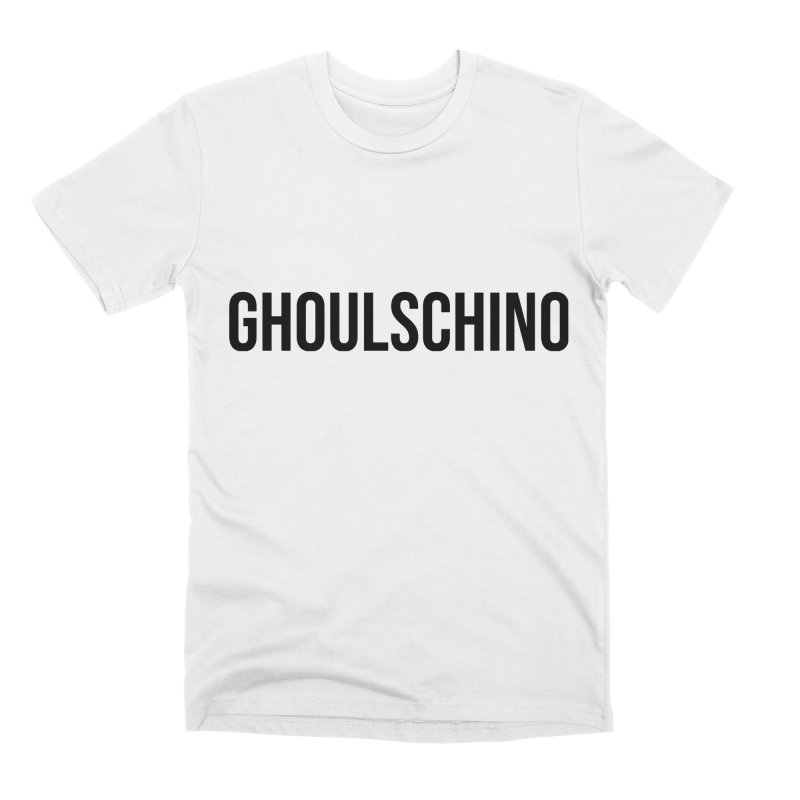 GHOULSCHINO Men's Premium T-Shirt by ezo's Artist Shop