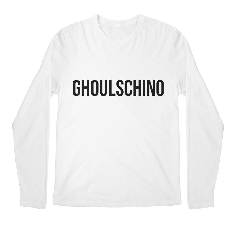 GHOULSCHINO Men's Regular Longsleeve T-Shirt by ezo's Artist Shop