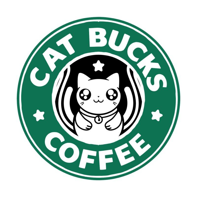 Cat Bucks Coffee by eztikma's Artist Shop