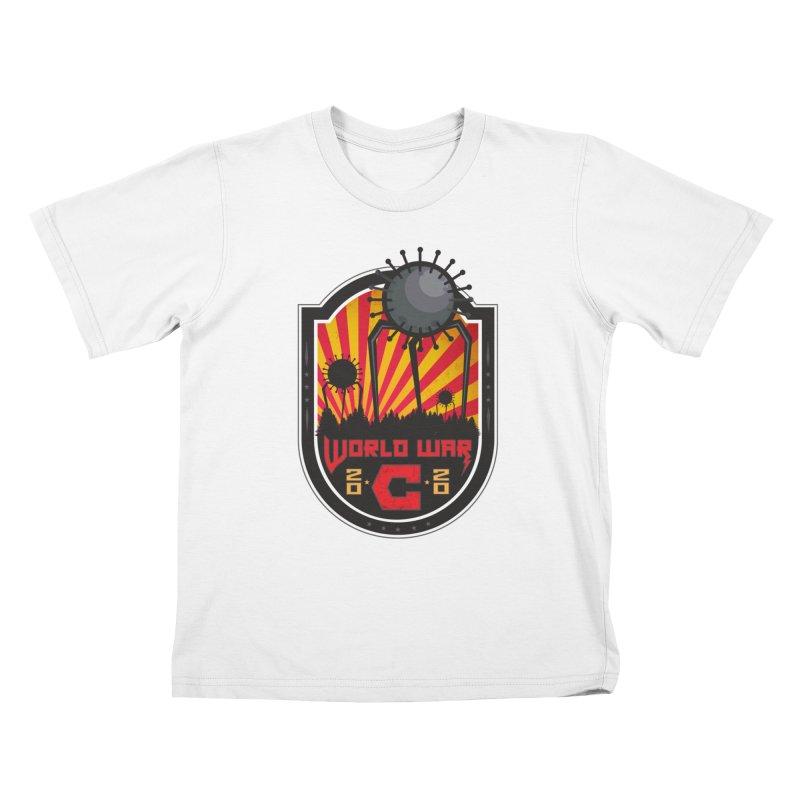 World War C Kids T-Shirt by F A B O O L U X