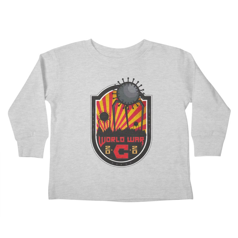 World War C Kids Toddler Longsleeve T-Shirt by F A B O O L U X