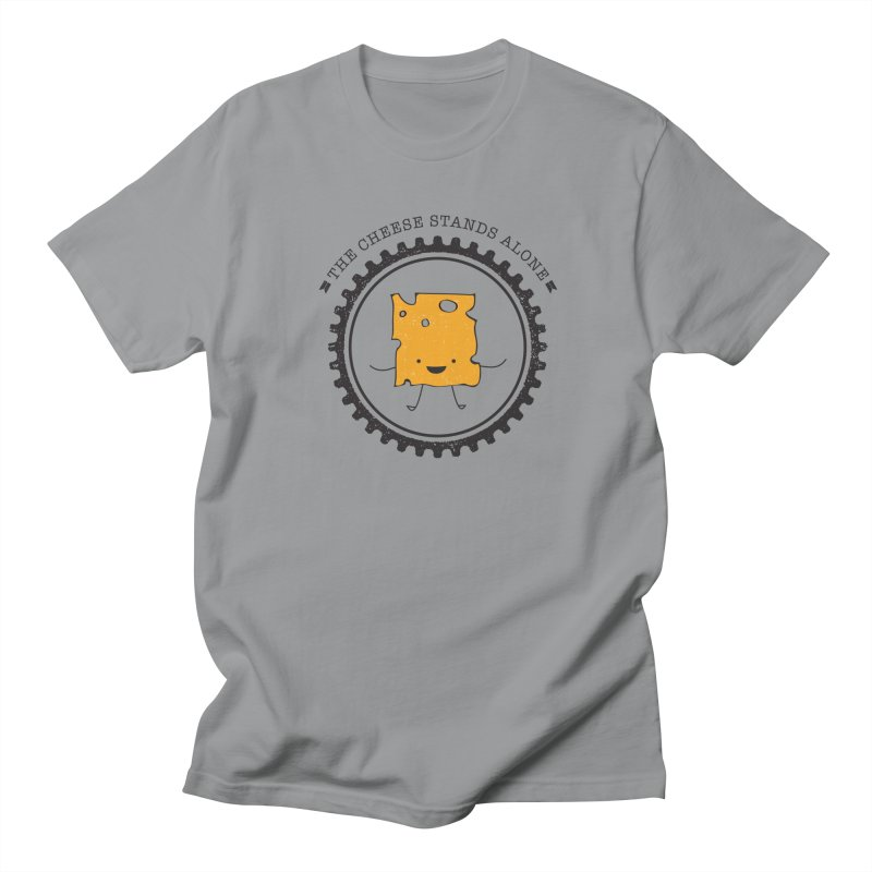 The Cheese Stands Alone Men's T-Shirt by F A B O O L U X