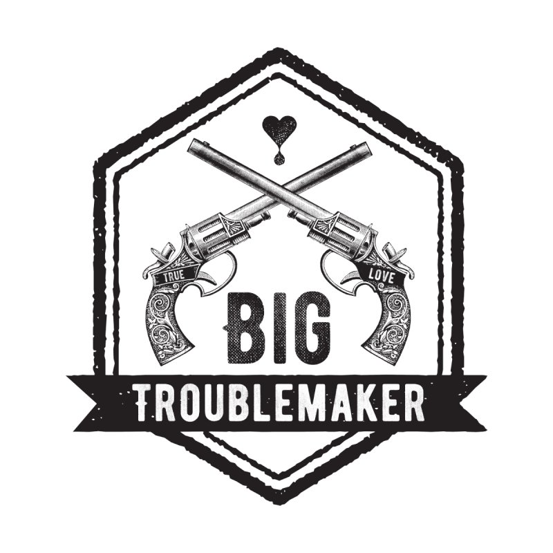 Big Troublemaker Accessories Face Mask by F A B O O L U X