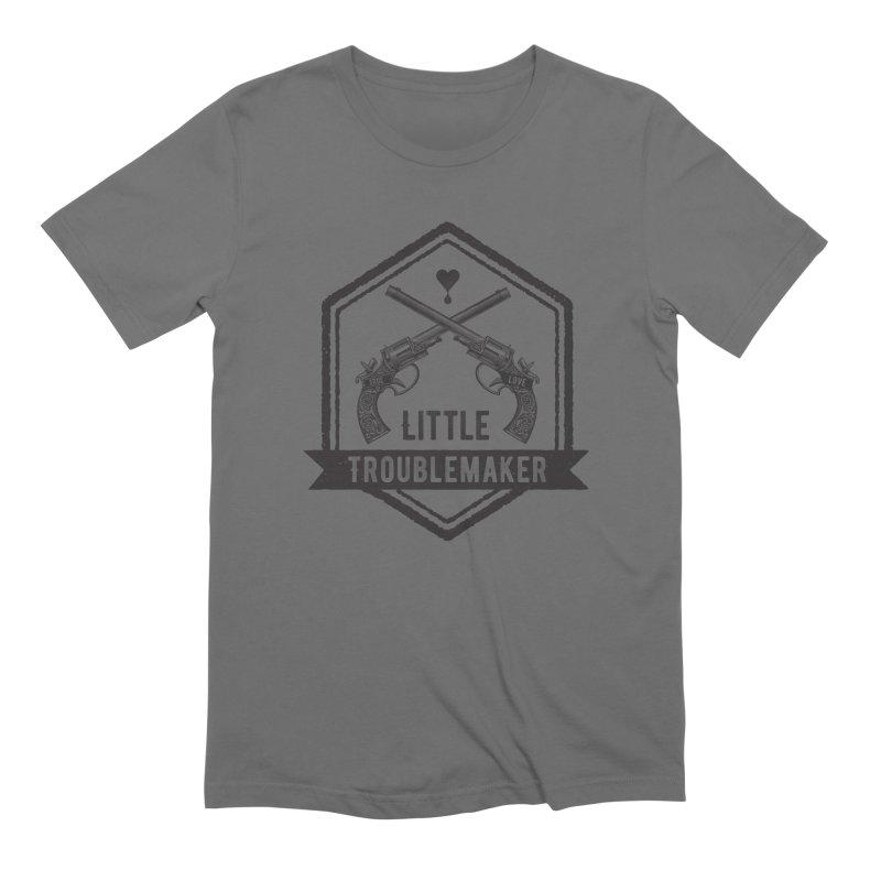 Little Troublemaker Men's T-Shirt by F A B O O L U X