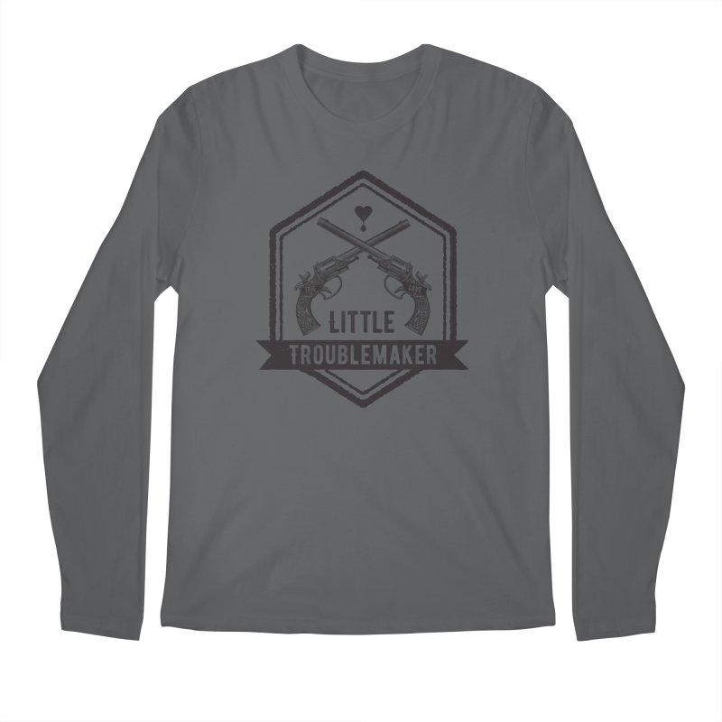 Little Troublemaker Men's Longsleeve T-Shirt by F A B O O L U X