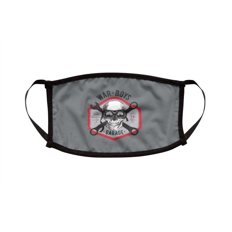 War Boys Garage Accessories Face Mask by F A B O O L U X