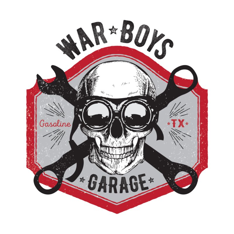 War Boys Garage Kids T-Shirt by F A B O O L U X