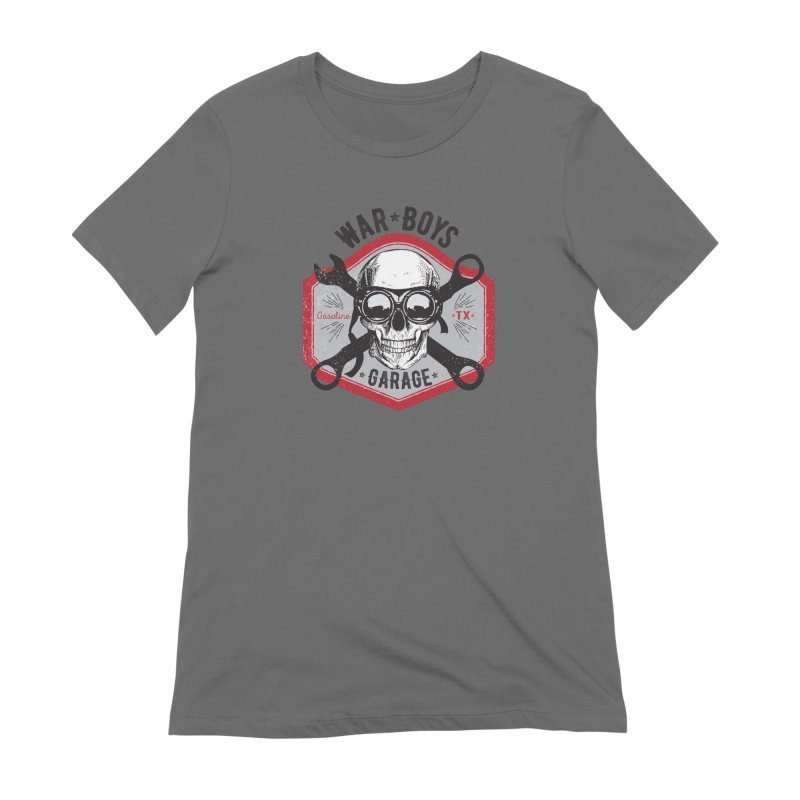 War Boys Garage Women's T-Shirt by F A B O O L U X