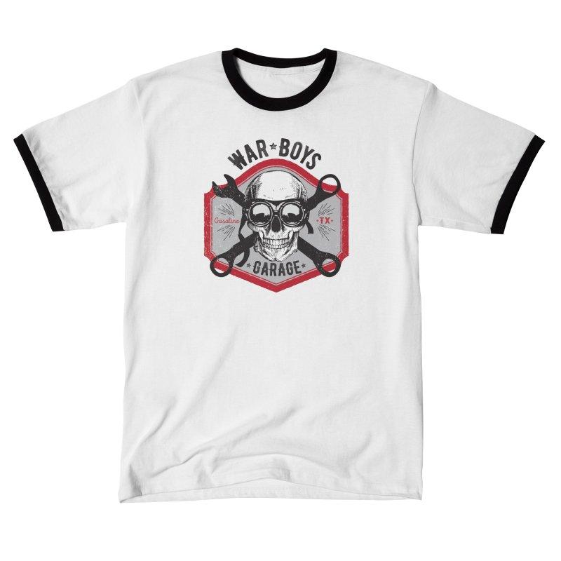 War Boys Garage Women's T-Shirt by F A B O O L U X