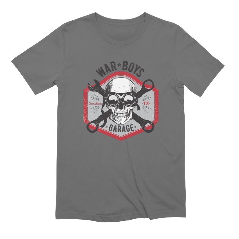 War Boys Garage Men's T-Shirt by F A B O O L U X