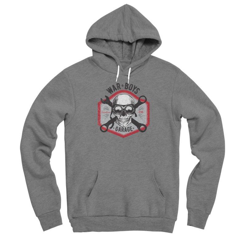 War Boys Garage Men's Pullover Hoody by F A B O O L U X