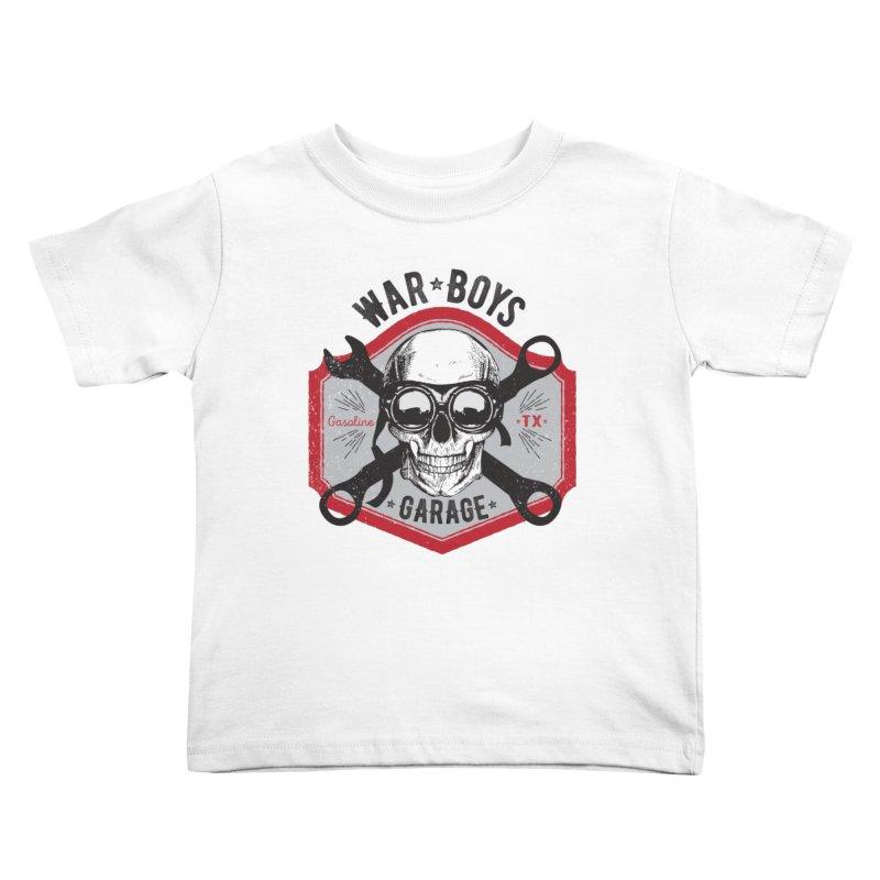 War Boys Garage Kids Toddler T-Shirt by F A B O O L U X