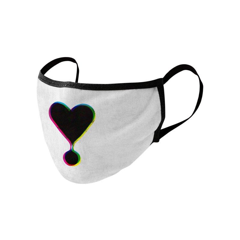Bleeding Heart Accessories Face Mask by F A B O O L U X