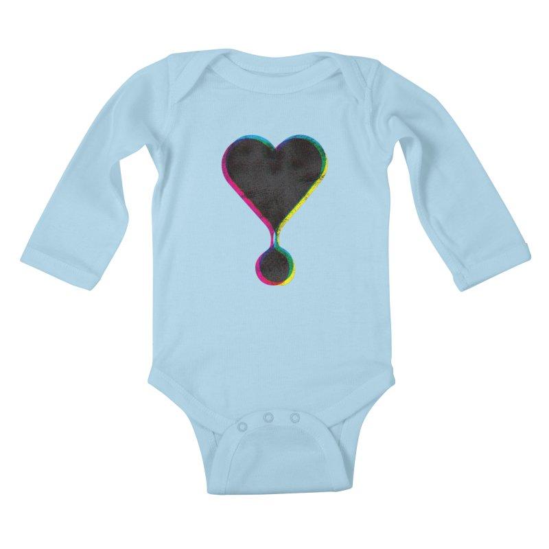 Bleeding Heart Kids Baby Longsleeve Bodysuit by F A B O O L U X