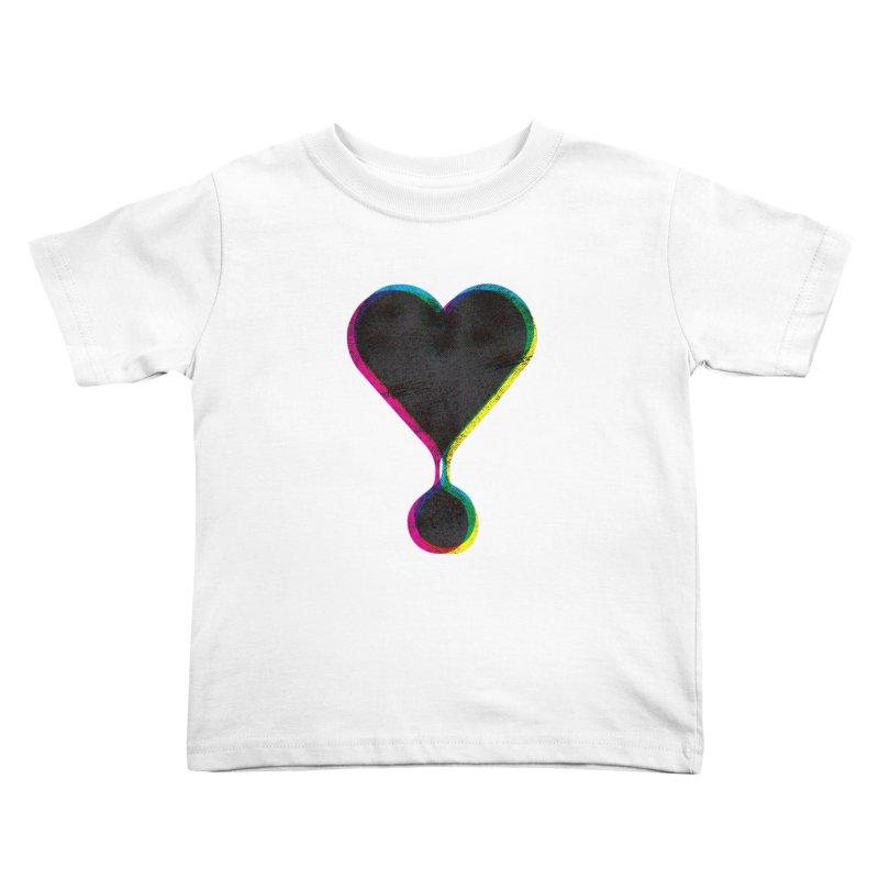 Bleeding Heart Kids Toddler T-Shirt by F A B O O L U X