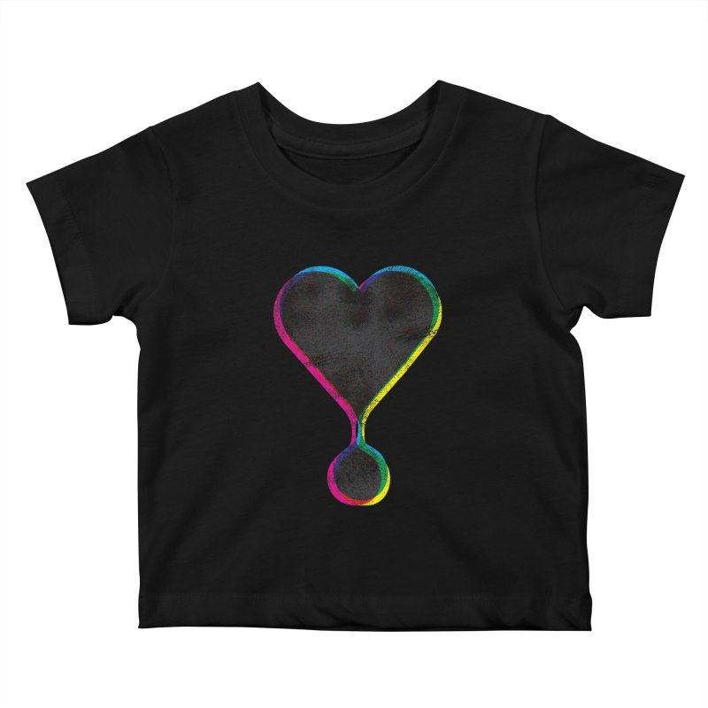 Bleeding Heart Kids Baby T-Shirt by F A B O O L U X