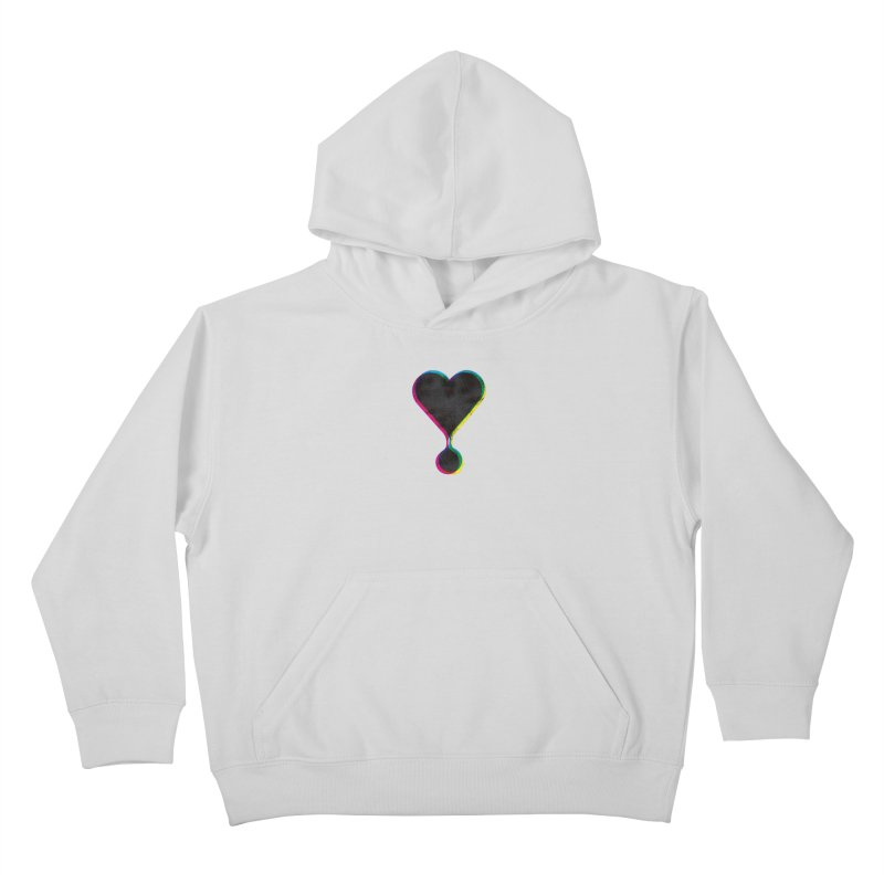 Bleeding Heart Kids Pullover Hoody by F A B O O L U X