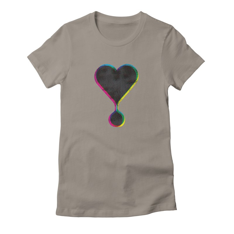 Bleeding Heart Women's T-Shirt by F A B O O L U X