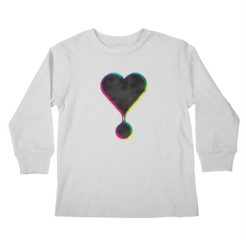 Bleeding Heart Kids Longsleeve T-Shirt by F A B O O L U X