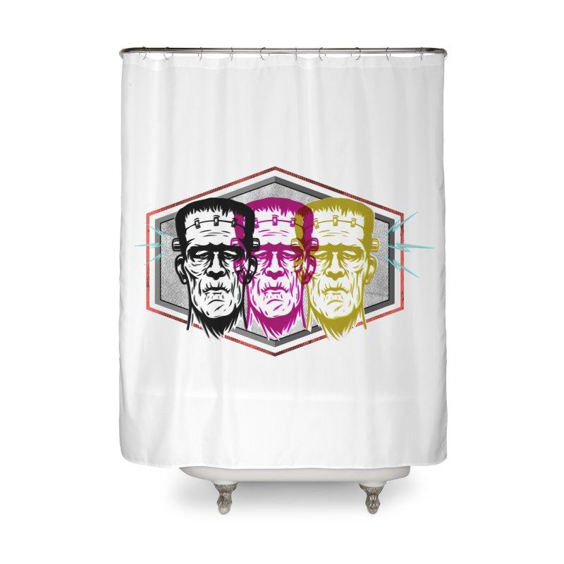 High Voltage Home Shower Curtain by F A B O O L U X