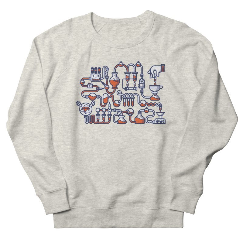 Alchemy Men's French Terry Sweatshirt by fabric8's Artist Shop