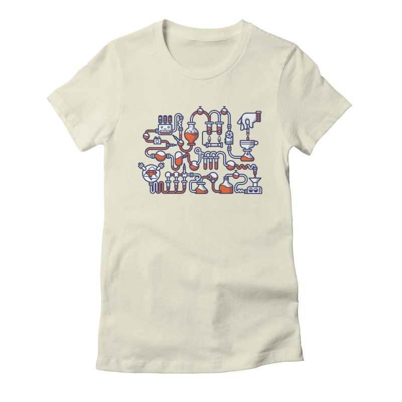 Alchemy Women's Fitted T-Shirt by fabric8's Artist Shop