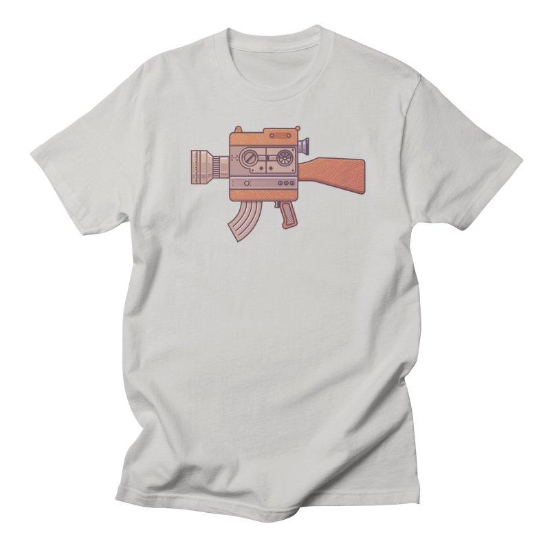 Camera Gun Men's T-Shirt by fabric8's Artist Shop
