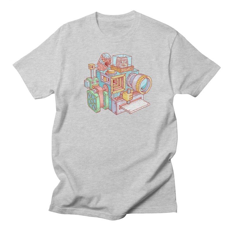 Creator Cam Men's Regular T-Shirt by fabric8's Artist Shop