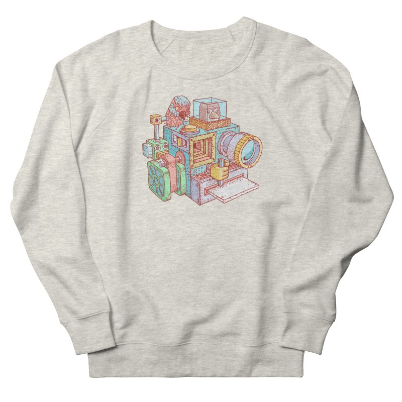 Creator Cam Men's French Terry Sweatshirt by fabric8's Artist Shop