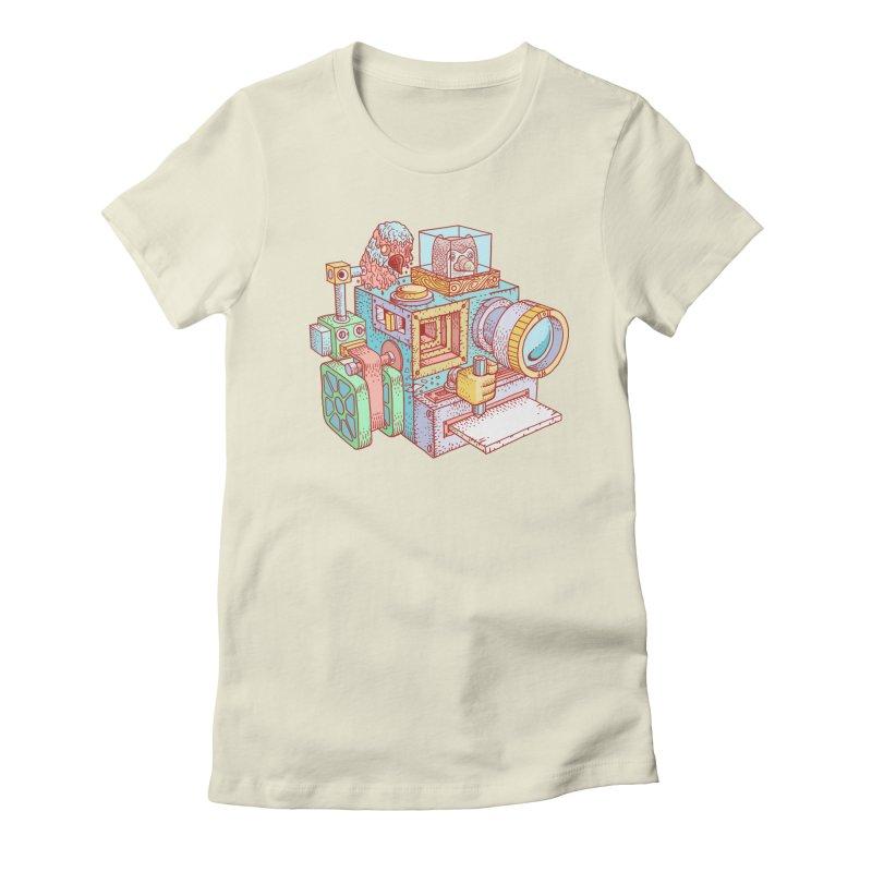 Creator Cam Women's T-Shirt by fabric8's Artist Shop