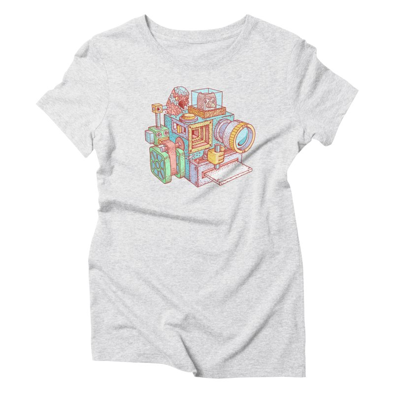 Creator Cam Women's T-Shirt by fabric8's Artist Shop