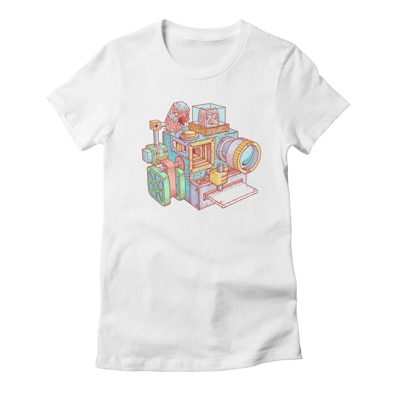Creator Cam Women's Fitted T-Shirt by fabric8's Artist Shop