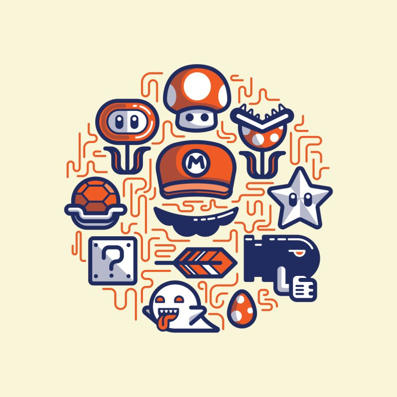 Mario Essentials by fabric8's Artist Shop