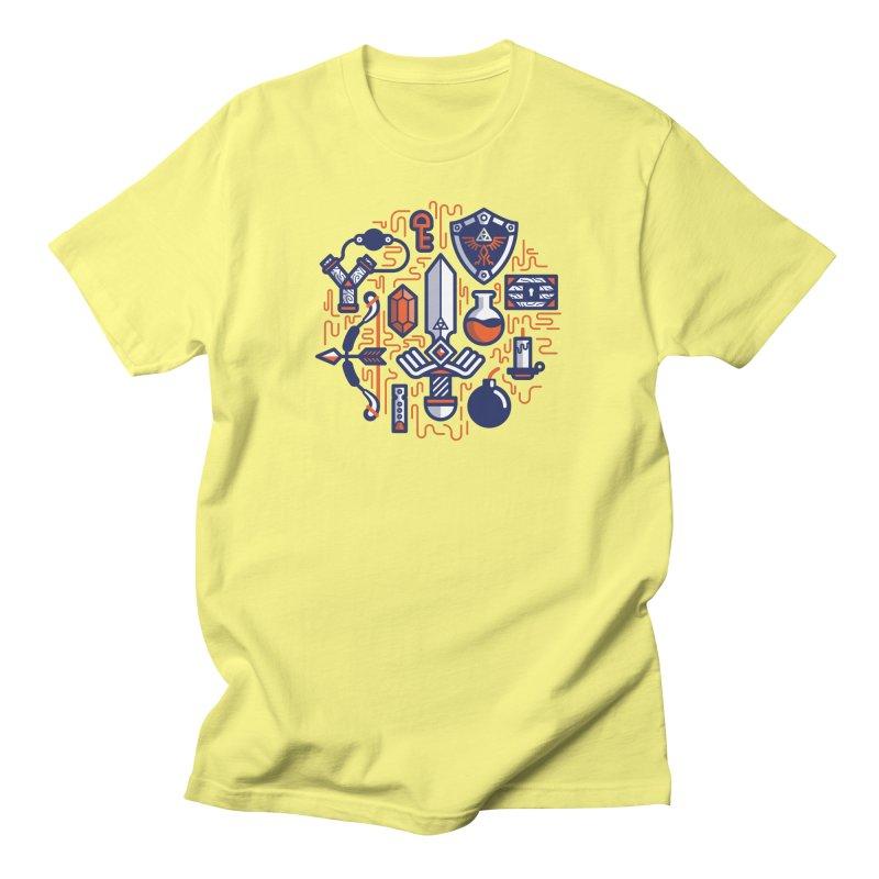 Zelda Essentials Men's T-Shirt by fabric8's Artist Shop