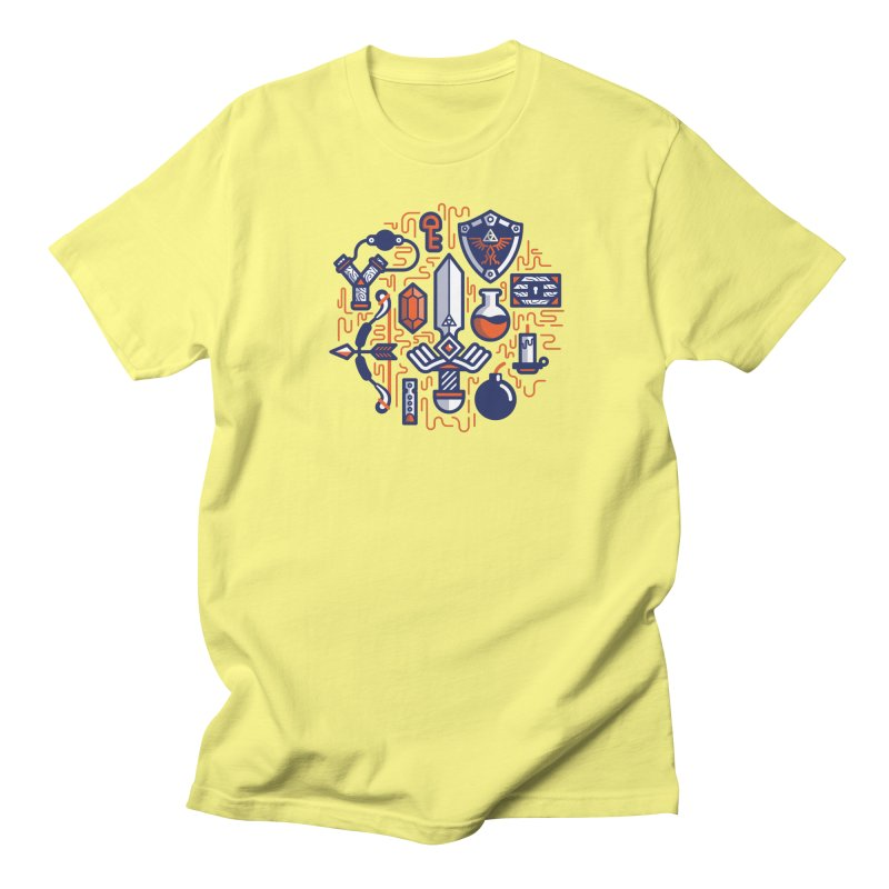 Zelda Essentials Men's T-Shirt by fabric8's Artist Shop