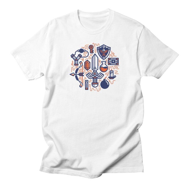Zelda Essentials Men's Regular T-Shirt by fabric8's Artist Shop