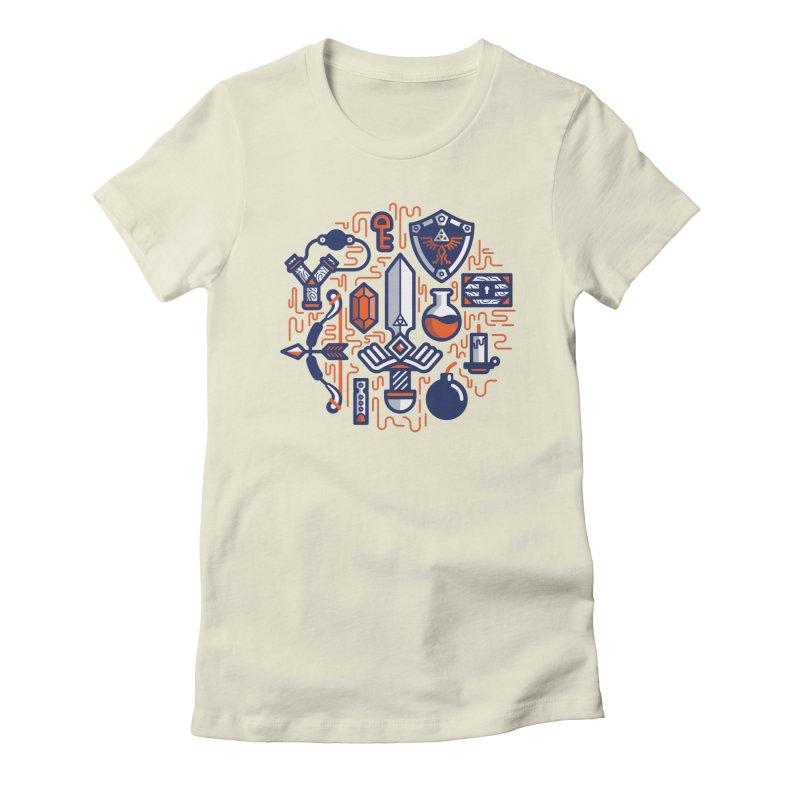 Zelda Essentials Women's T-Shirt by fabric8's Artist Shop