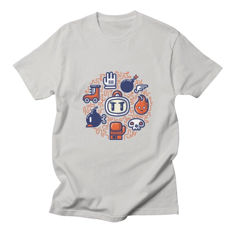 Bomberman Essentials Men's T-Shirt by fabric8's Artist Shop