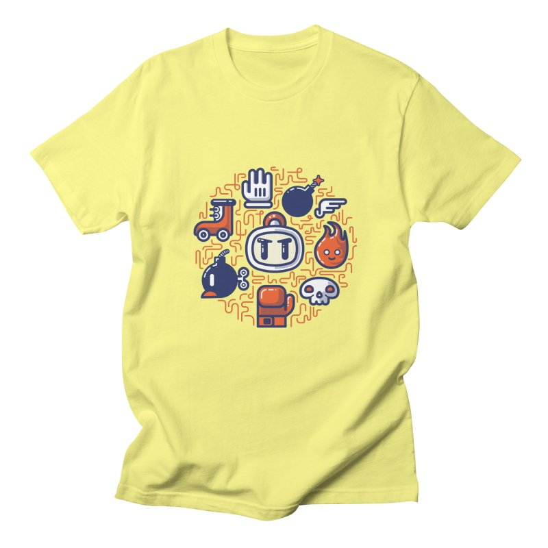 Bomberman Essentials Men's T-Shirt by fabric8's Artist Shop