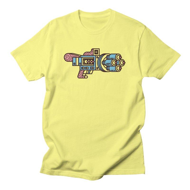 Pencil Thrower Men's T-Shirt by fabric8's Artist Shop