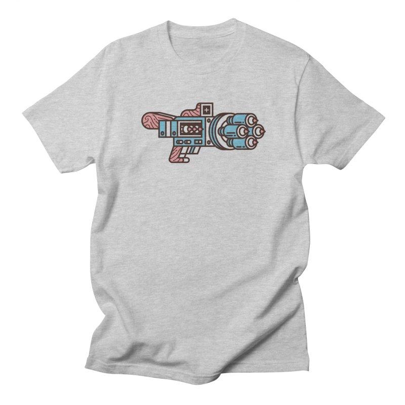 Pencil Thrower Men's Regular T-Shirt by fabric8's Artist Shop