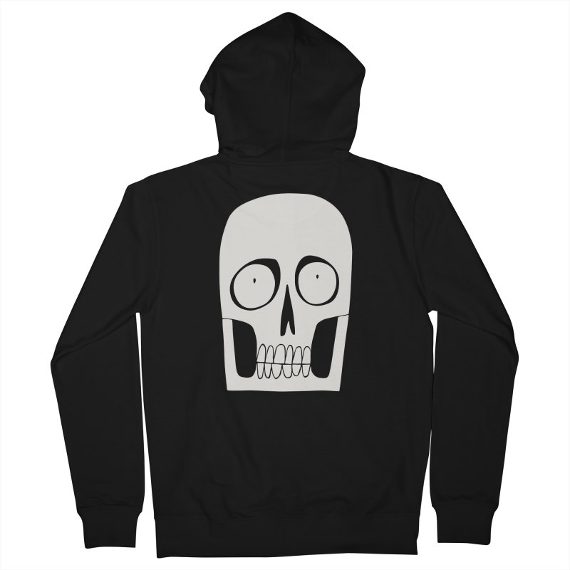 Skullduggery Men's Zip-Up Hoody by facebunnies's Artist Shop