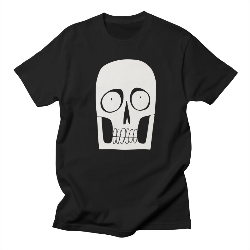 Skullduggery Men's T-shirt by facebunnies's Artist Shop
