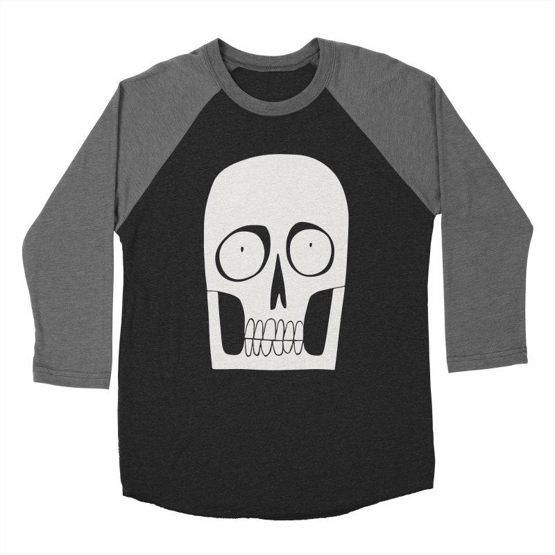 Skullduggery Women's Baseball Triblend T-Shirt by facebunnies's Artist Shop