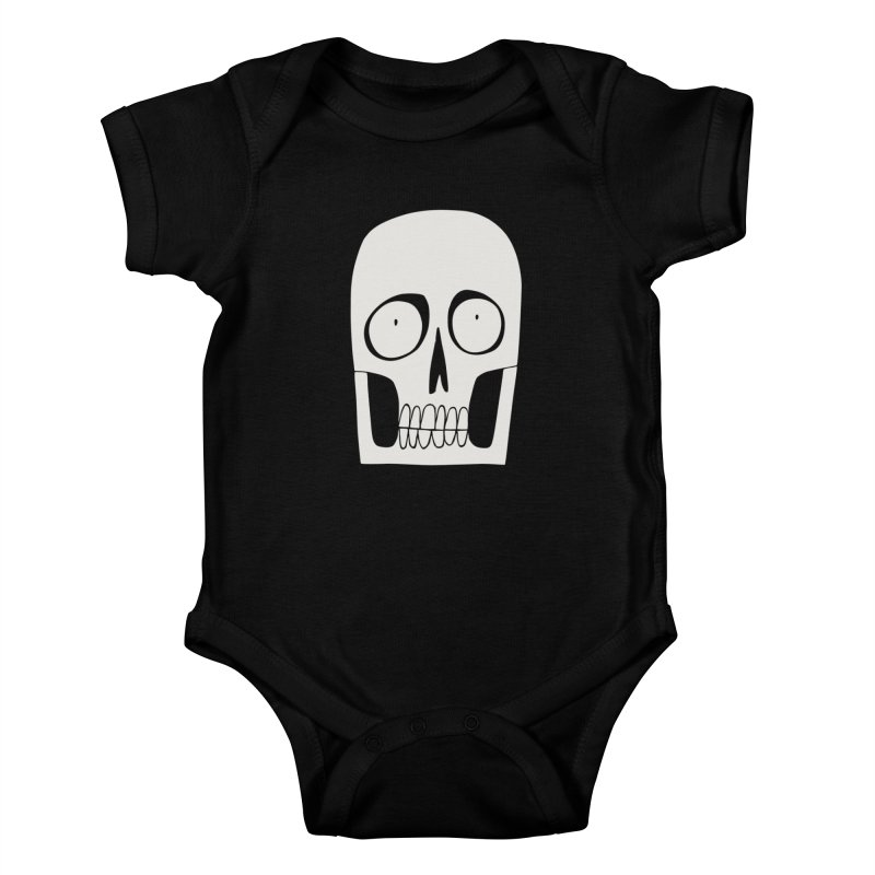 Skullduggery Kids Baby Bodysuit by facebunnies's Artist Shop