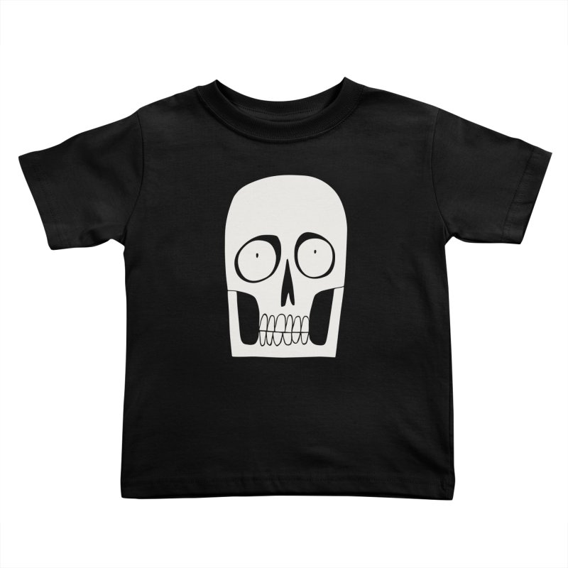 Skullduggery Kids Toddler T-Shirt by facebunnies's Artist Shop