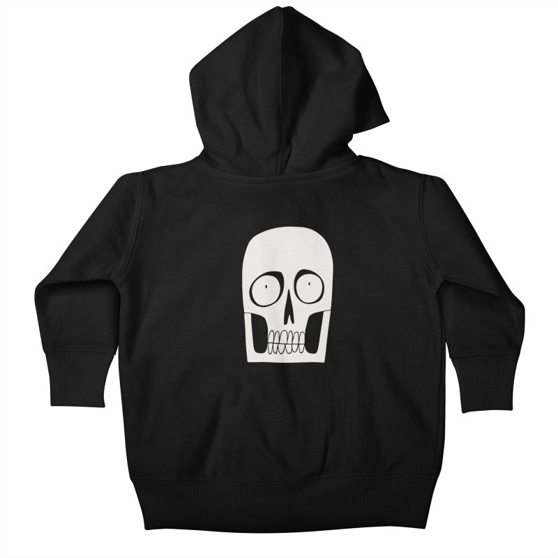 Skullduggery Kids Baby Zip-Up Hoody by facebunnies's Artist Shop