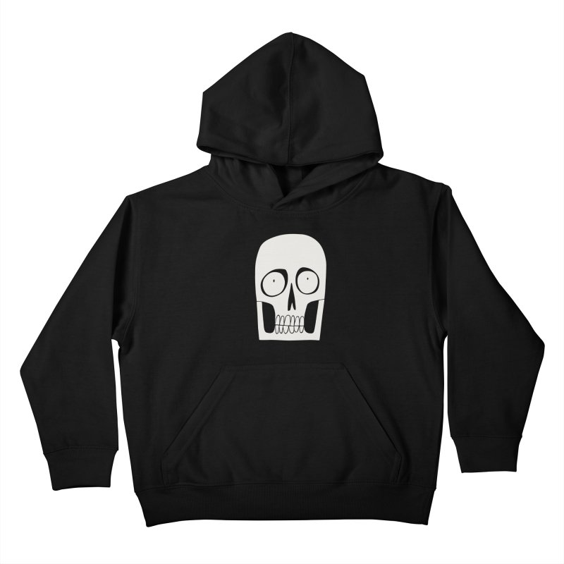 Skullduggery Kids Pullover Hoody by facebunnies's Artist Shop